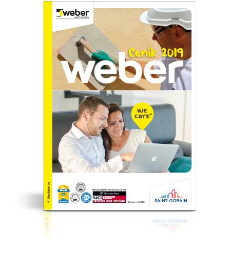 Ceník Weber 2019
